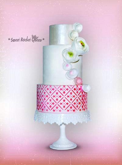 Pink Sweetness - Cake by Sweet Rocket Queen (Simona Stabile)