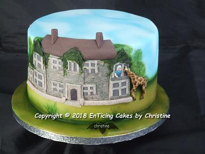 Giraffes 2 - Cake by Christine Ticehurst