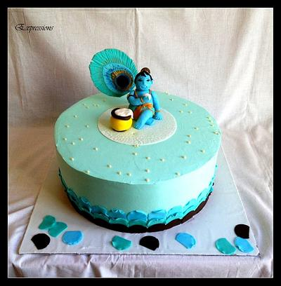 My Krishna Cake - An Expression! - Cake by Expressions