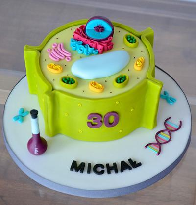 Plant cell cake - Cake by Crumb Avenue