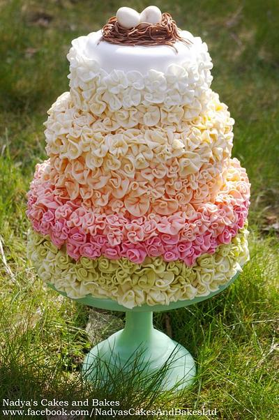 Colours of Spring - Cake by Nadya
