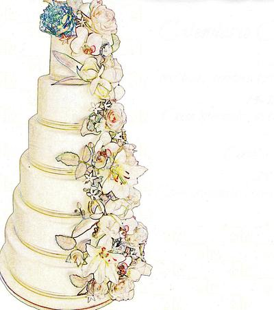 Rose D 'Alba, best blog of the week - Cake by Rose D' Alba cake designer