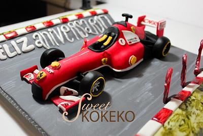 F1 Aniversary Cake - Cake by SweetKOKEKO by Arantxa