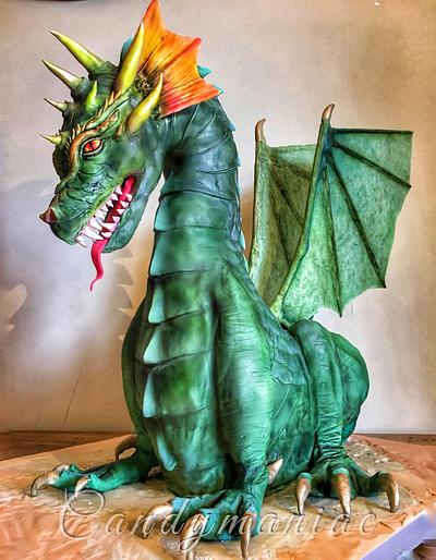The dragon - Cake by Mania M. - CandymaniaC