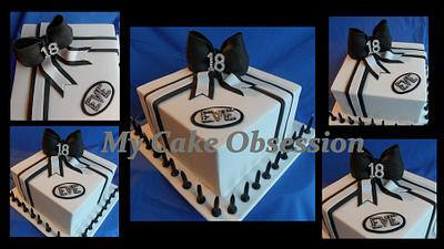 Eve's 18th  - Cake by My Cake Obsession
