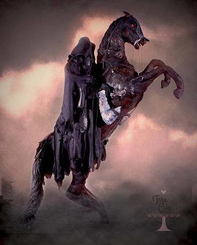 PETER JACKSON COLLABORATION ~ THE DARK RIDER OF MORDOR - Cake by Take The Cake
