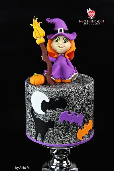 Halloween's Little Apprentice  - Cake by RED POLKA DOT DESIGNS (was GMSSC)