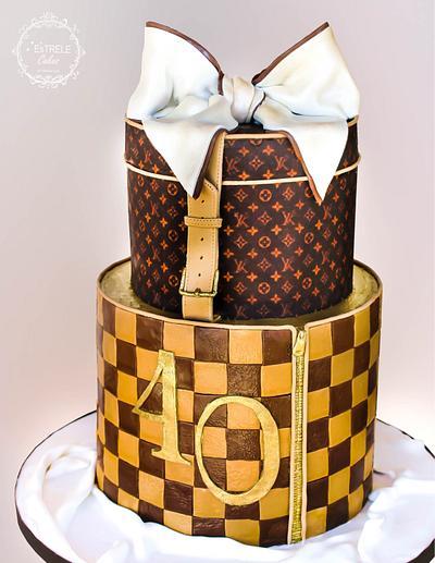 Louis Vuitton cake - Cake by Estrele Cakes