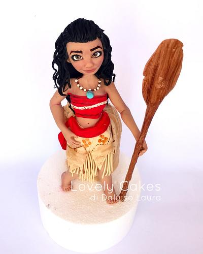 Vaiana  - Cake by Lovely Cakes di Daluiso Laura
