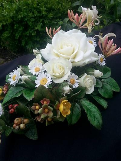Flowers for a florist - Cake by Escaped to Sugarland