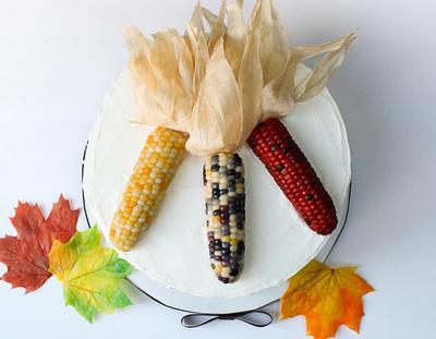 Bean Paste Autumn Corn - Cake by Otchcakes