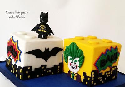 LEGO BATMAN CAKE - Cake by Susan Fitzgerald Cake Design