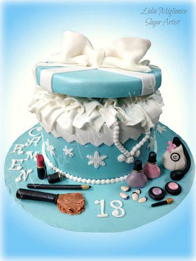 cake box Winter and aesthetics - Cake by Il Dolce Mondo di Lidia