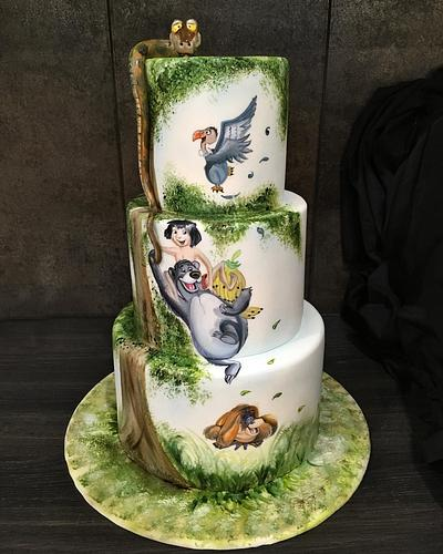 Jungle Book Cake - Cake by  Sue Deeble