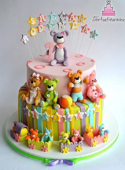 Teddy bears :)  - Cake by Nataša