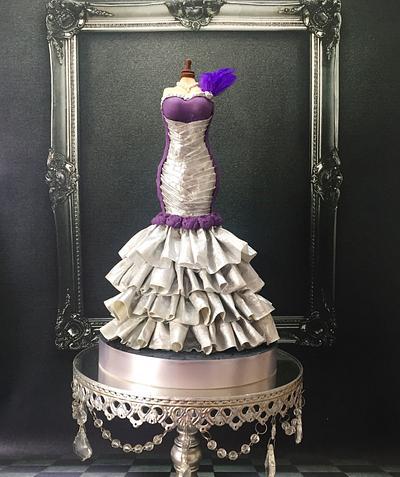 Edible Fabric Dress - CPC International Women's Day Collaboration  - Cake by Seema Tyagi