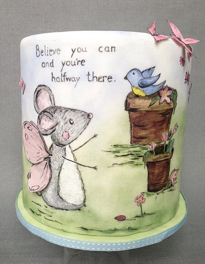 Believe you can... - Cake by Baked4U