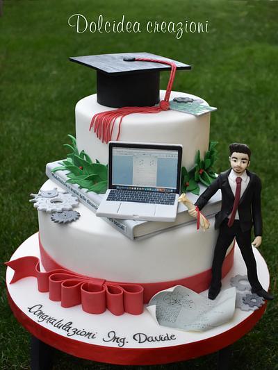 Engineer graduation cake - Cake by Dolcidea creazioni