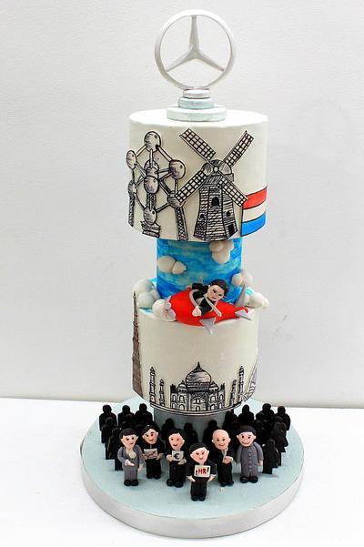 Mercedes Benz - Cake by Midnight Kakery