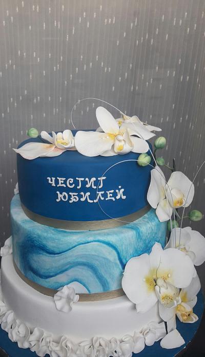 Orchid - Cake by Svilena Balevska