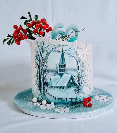 Winter nostalgia - Cake by alenascakes