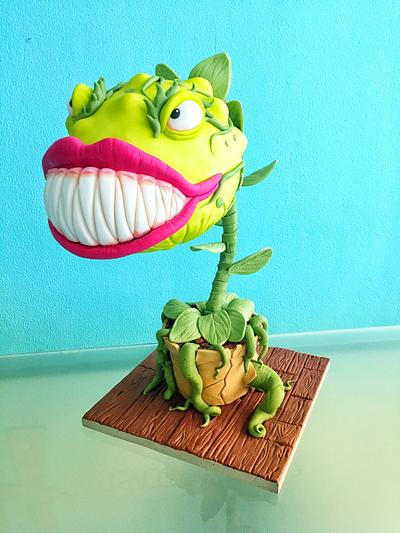 Carnivorous Plant - Cake by Michael Almeida