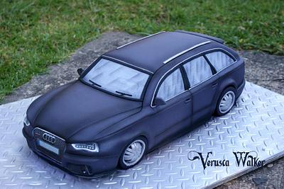 Audi RS6 - Cake by Verusca Walker
