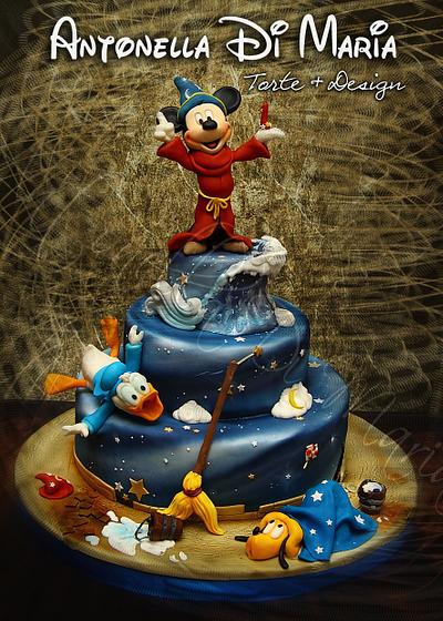 Mickey's world of magic - Cake by Antonella Di Maria
