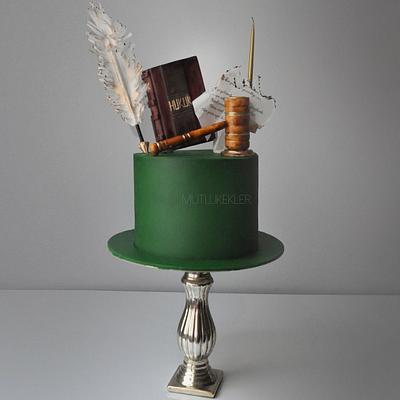 For a Lawyer - Cake by Caking with love