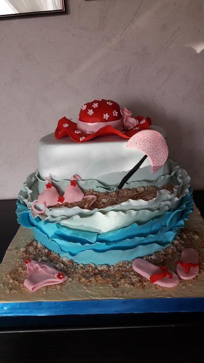 Sea cake - Cake by Svilena Balevska