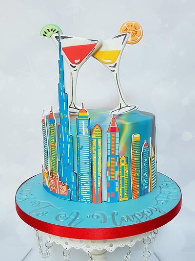 Farewell cake Dubai - Cake by Bonnie Bakes UAE