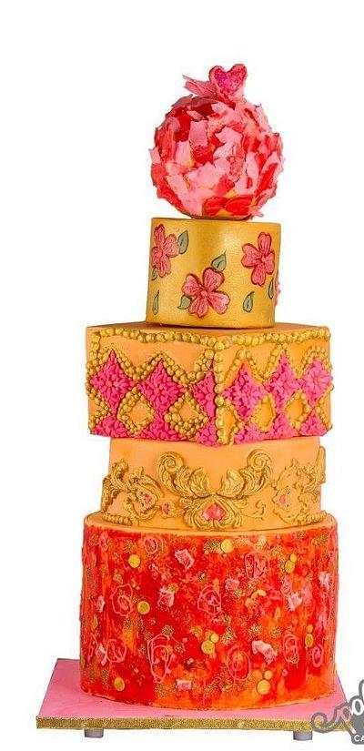 Modern wedding cake !  - Cake by Puresin_
