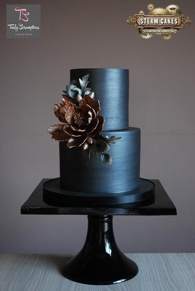 Metallica - Steam Cakes - Steampunk Collaboration  - Cake by Emma Stewart