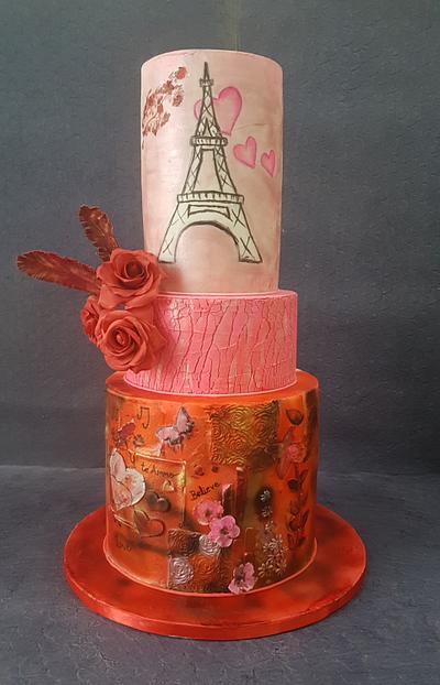 Caker Buddies Valentine Collab Love Is Beautiful - Cake by KAkesbykomal