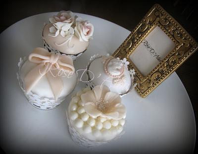 Wedding cupcakes for a dream wedding ... - Cake by Rose D' Alba cake designer