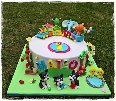 The first birthday ...Mateo - Cake by Tortolandia