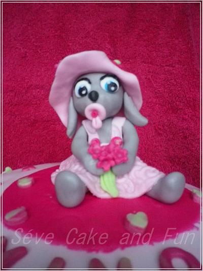 bébé lapin coquette - Cake by Séverine