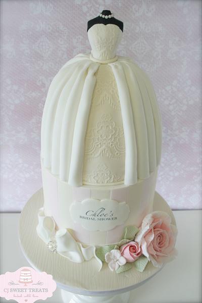 Bridal Shower Beauty - Cake by cjsweettreats