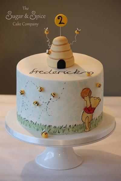 Winnie the Pooh - Cake by The Sugar & Spice Cake Company