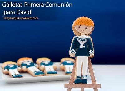 First Communion Cookies for David - Cake by Kittyscuquis