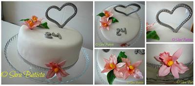 Anniversary Wedding Cake  - Cake by Sara Batista