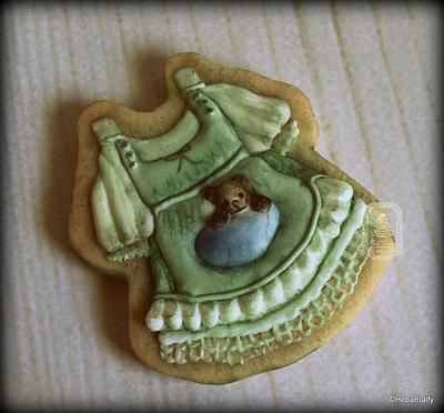 Vintage dress cookie - Cake by Sweet Dreams by Heba