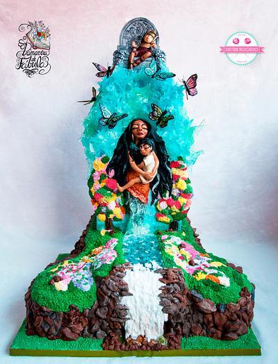 Primavera de Fábula: La doncella del río - Cake by Carmen