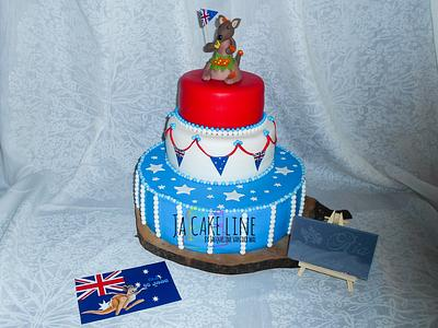 She wants to go to Australia .... - Cake by Jacqueline