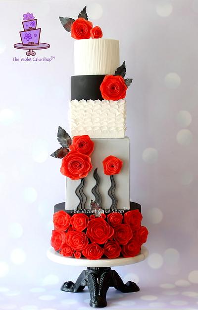 ETERNAL YOUTH - ZUHAIR MURAD Fashion Inspired Cake Collaboration - Cake by Violet - The Violet Cake Shop™