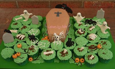 Cemetery birthday - October 2012 - Cake by Cakes by Ade