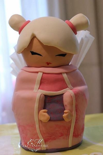 Kokeshi Cake - Cake by Elli & Mary