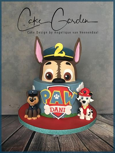 Paw Patrol cake  - Cake by Cake Garden