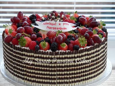 Fruit Cake - Cake by Beata Khoo