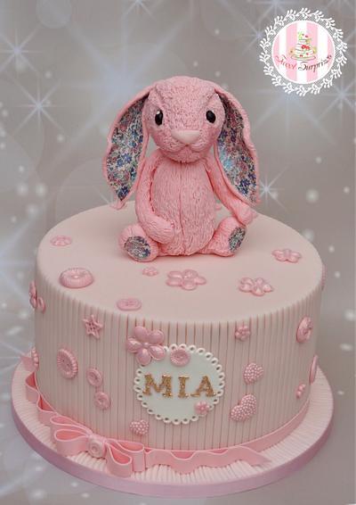 Jellycat bunny - Cake by Sweet Surprizes